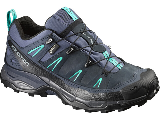 Salomon X Ultra LTR GTX Hiking Shoes Women Slateblue/Deep Blue/Spa Blue